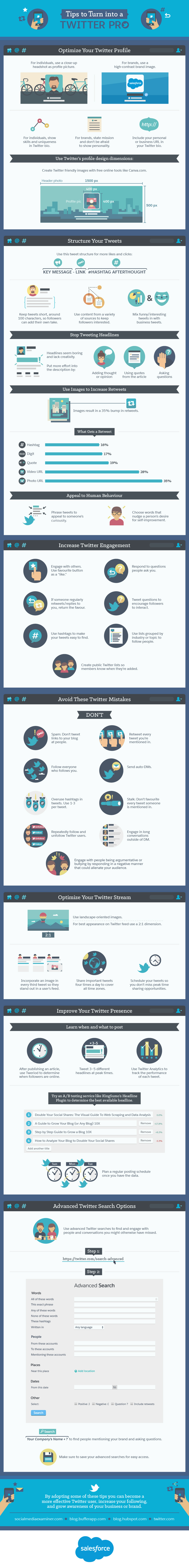 Twitter Tips to Turn into a Twitter Pro