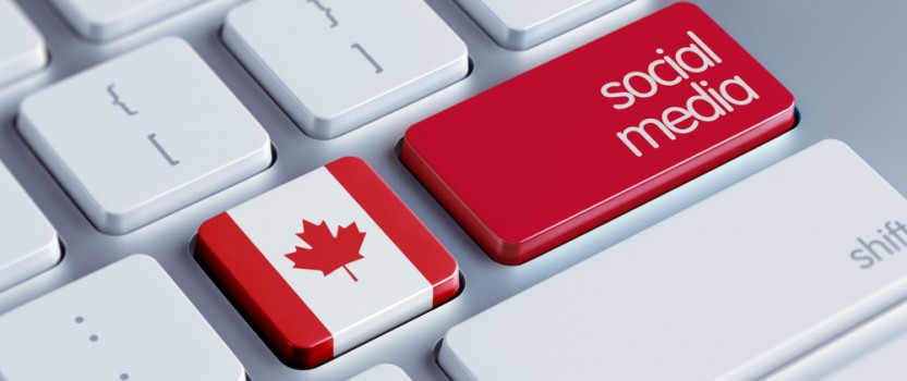 The importance of social media in Canada